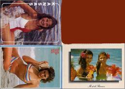 3 CP De Femmes En Maillots De Bains - Sun Surf And See - Réunion - Kansas  (52871) - Pin-Ups