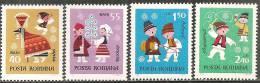Romania 1969 Nuovo** - Mi.2810/13  Yv.2503/06 - 1948-.... Repubbliche