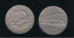 MOZAMBIQUE - 1000 Meticais  1994  KM122 - Mozambique