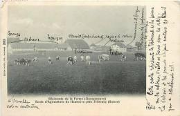 Fev13 934 : Grangeneuve  -  Ferme  -  Ecole D'Agriculture De Hauterive  -  Près Fribourg - FR Fribourg