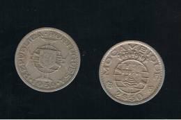 MOZAMBIQUE -  2,5  Escudos 1954  KM78 - Mozambique