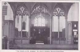 WESTON SUPER MARE  -ST PAULS CHURCH. CHAPEL OF ST ANDREW - Weston-Super-Mare