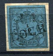 12544) OLDENBURG # 2 II Gestempelt Aus 1852, 120.- € - Oldenburg