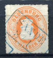 12552) OLDENBURG # 16 A Gestempelt Aus 1862, 120.- € - Oldenburg