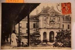 CPA Asile De Vaucluse  (s & O) Entrèe Principale (ca 742) - Sainte Genevieve Des Bois