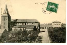 BRIEY - Meurthe Et Moselle (54) - L'église - Eglises Et Cathédrales
