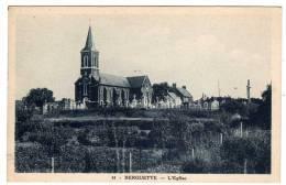 62  :  Berguette : L'Eglise - France