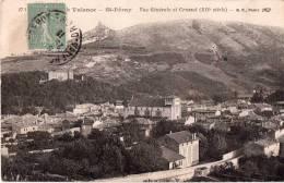 Cpa 1918, ST PERAY, Vue Générale Et Crussol   (15.72) - Autres Communes