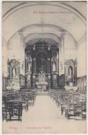 17331g Intérieur De L'EGLISE - Rongy - 1910 - Brunehaut