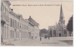 17376g GROOTE MARKT - KERK - Beveren- Waes - 1906 - Beveren-Waas