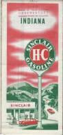USA/Indiana/Indianapolis / /HC Sinclair Gasoline / 1950          PGC20 - Roadmaps