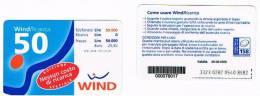 WIND ITALIA - C.&C.(10^ ED.) 1001 -  NESSUN COSTO 50 SCAD.      30-06-2000    - USATA - Italia