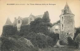 BLAISON - LE VIEUX CHATEAU GILLE DE BRETAGNE -- RARE - - France