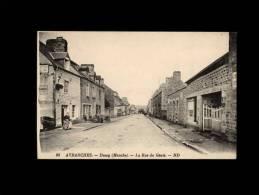 50 - DUCEY - La Rue Du Génie - 98 - Ducey