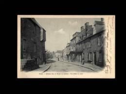 50 - DUCEY - Grande Rue Et Place Du Marché - Vue Du Haut - Ducey