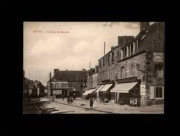 50 - DUCEY - La Place Du Marché - Ducey