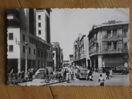 CPM CASABLANCA MAROC Boulevard Galliéni - Casablanca