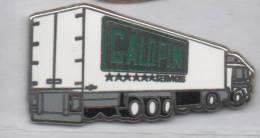 Superbe Pin´s En Zamac , Transport Camion Frigo , Galopin Services - Transportation