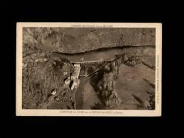 50 - DUCEY - Barrage Et Usine De La Roche-qui-Boit - Ducey