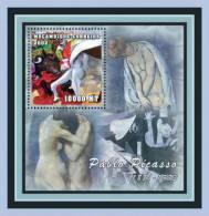 m1252c Mambique 2001 Art Painting s/s Pablo Picasso
