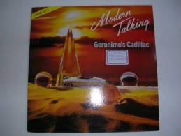 "MAXI - MODERN TALKING  -  HANSA 248499  "" GERONIMO'S CADILLAC "" + 2 - 45 T - Maxi-Single"