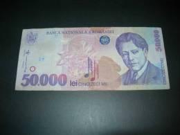 Romania  50000 Lei  1996. - Romania