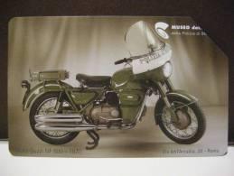 525 GOLDEN EURO - MOTO GUZZI FALCONE NF 500 1970 - USATA PERFETTA QUALITA´ FIOR DI STAMPA - G - Public Advertising