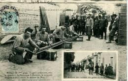 N°29112  -cpa Crime D'Usseau  -soldats Du 6è Génie- - Other Municipalities