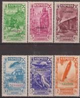 TABE6-L39591TTOA.Transpor Te. Historia Del Correo.TANGER ESPAÑOL BENEFICENCIA 1938 (Ed  6/11**) Sin Charnela EXCELENTE - Transporte