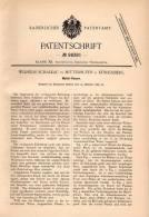Original Patentschrift -W. Schalkau In Mittelhufen B. Königsberg ,1897, Panzerschreck , Geschoss Gegen Panzer , Munition - Ausrüstung