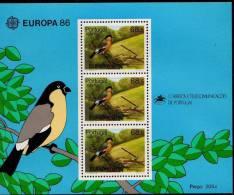 PIA -  AçORES  - 1986  : EUROPA    - (Yv  Bf   7) - Azores