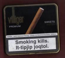 CIGAR TINS -  VILLIGER PREMIUM  CIGARS - - Cigar Cases