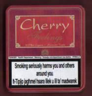 CIGAR TINS -  CHERRY FEELINGS  CIGARS - - Étuis à Cigares