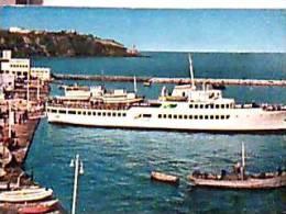 PROCIDA ARRIVO AL PORTO DEL PIROSCAFO  NAVE SHIP FERRY  V1969   EE13281 - Napoli