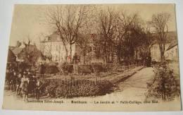 CPA Institution Saint Joseph Montluçon Jardin Et Petit Collége Cotés Sud Groupe Enfants - Montlucon
