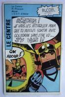RARE CARTE PUBLICITAIRE Pour Les Buiscuit PHYDOR GOLDORAK Pour Un JEU DES FAMILLES - 1 CARTE LE CENTRE - ALCOR - Trading Cards