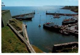 Belle Ile En Mer - Le Port Du Palais Vu De La Citadelle - Belle Ile En Mer