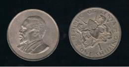 KENYA - 1 Shilling   KM5   -  1966 - Kenia