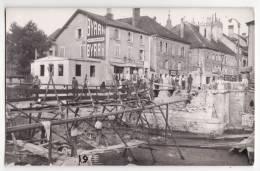 25  PONTARLIER   Pont Détruit Pendant La Guerre    Draglo    Ligne Du Tramway Pontarlier Mouthe      Chemin De Fer - Unclassified