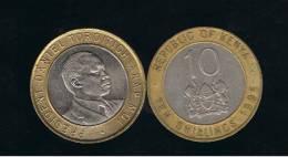 KENYA -  10  Shilling  1995  KM27 - Kenia
