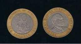 KENYA -  10  Shilling  1997  KM27 - Kenia