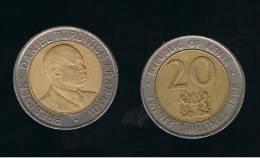 KENYA -  20  Shilling  1998  KM32 - Kenia