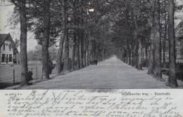 474/ Oude Kaart Enschede, Gronausche Weg, Mensen, Huis, 1908 - Enschede
