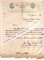 Brief 1903 - MAGDEBURG - Edm. KOCH & Cie - Schriftgisserei - Fonderie De Caractères Et Gravures - Druck & Papierwaren