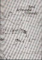 "« Rond De Brusselse Warande"" LIEBAERS, H. - Ed. Manteau, Antwerpen 1988 - History"