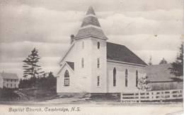 Baptist Church, Cambridge, NS Postmark: Cambridge Station, NS SP 28 09 - Eglises Et Cathédrales