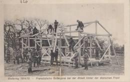 PRISONNIERS DE GUERRE FRANCAIS AU TRAVAIL FORCE - CARTE ALLEMANDE SERIE WELTKRIEG NR 368 - Guerre 1914-18