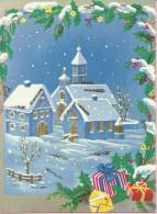 MERRY CHRISTMAS And Happy New Year, 1964., Yugoslavia () - Natale