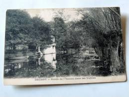 Carte Postale Ancienne : BRUNOY : Bords De L'Yerres Dans Les Vallées - Brunoy