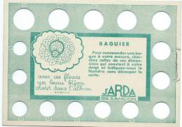 Baguier/ Pour Prendre La Mesure De La Grosseur Des Doigts / SARDA/ Besançon / Doubs/ Vers 1930   BIJ7 - Autres